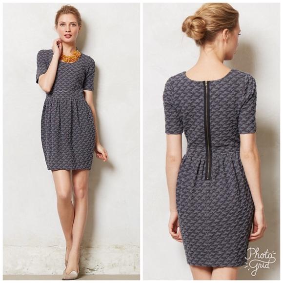 cc0299fb82d2 Anthropologie Dresses | Ganni Athena Textured Dress | Poshmark